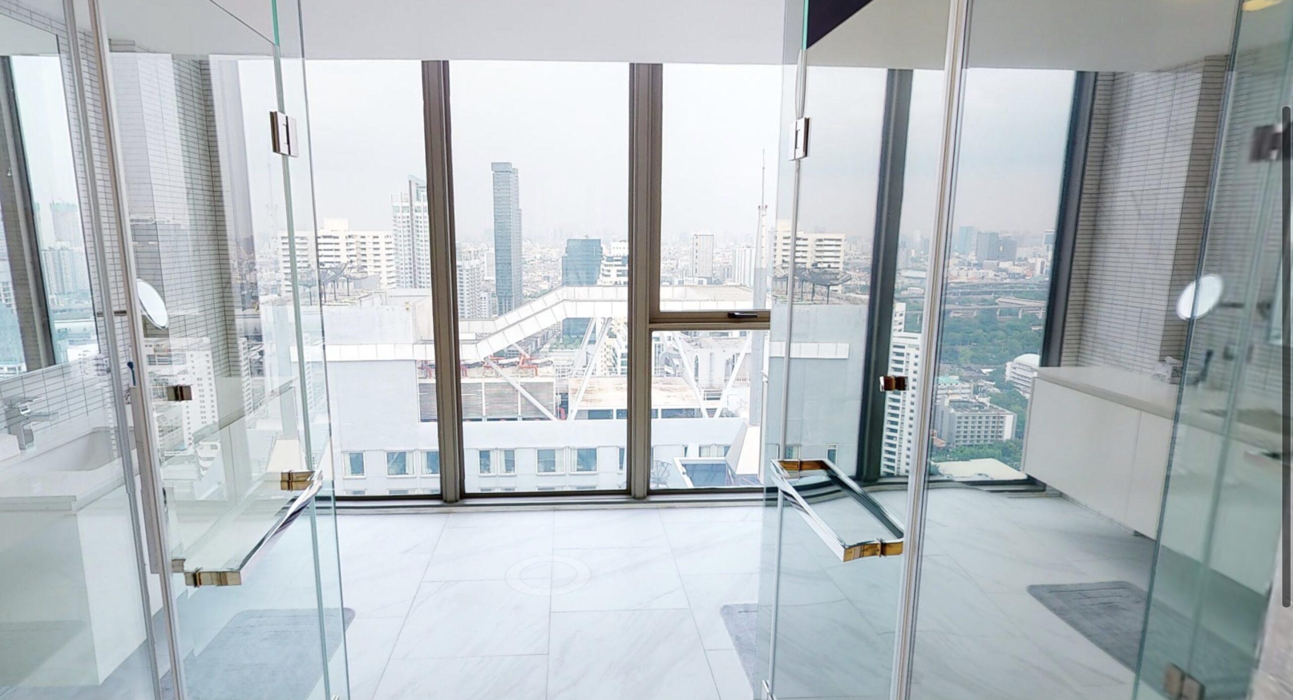 Bangkok Property Condo Apartment Real Estate For Sale in Nana Sukhumvit Stunning Duplex in Nana