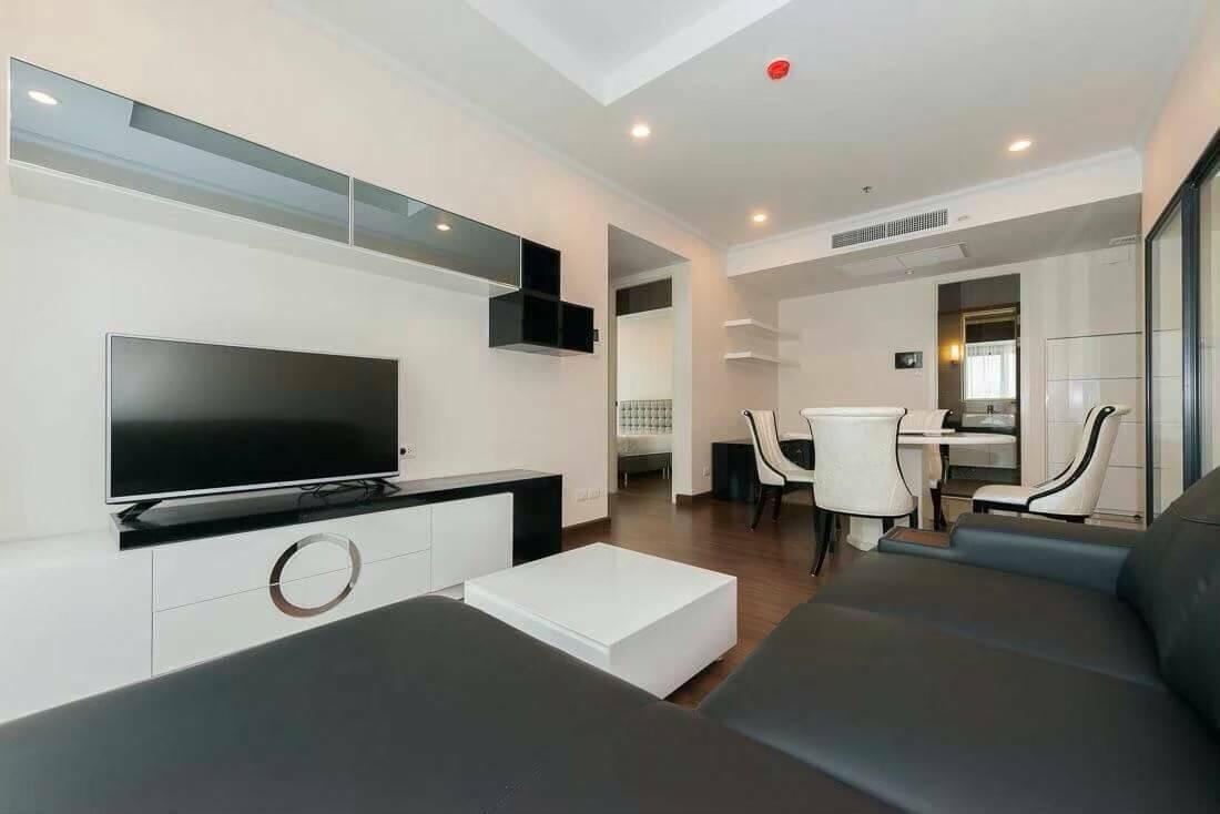 Bangkok Condo Apartment For Rent in Sathorn Chong Nonsi Classy Well Decor Condo