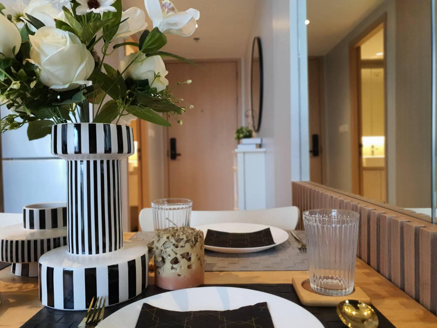 Bangkok Property Condo Apartment House Real Estate For Sale in Slilom Surasak Loft Style with City View