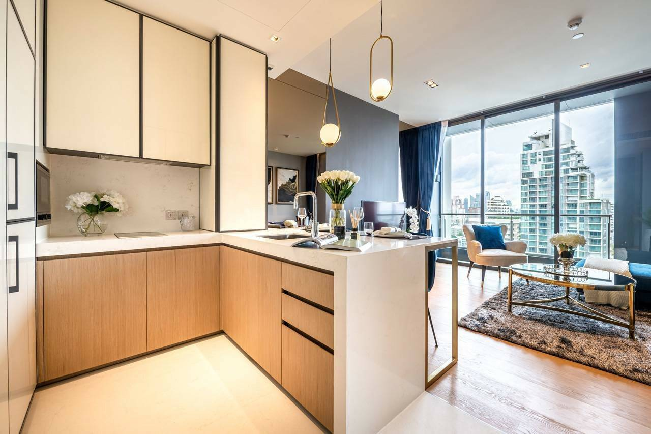 Bangkok Property Condo Apartment House Real Estate For Sale in Thonglor Sukhumvit Amazing Well Decor Thonglor