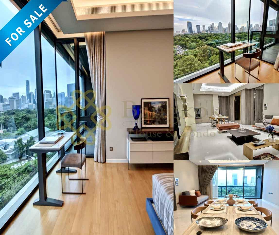 Bangkok Property Condo Apartment House Real Estate For Sale in Sathorn Lumpini Park View Condo