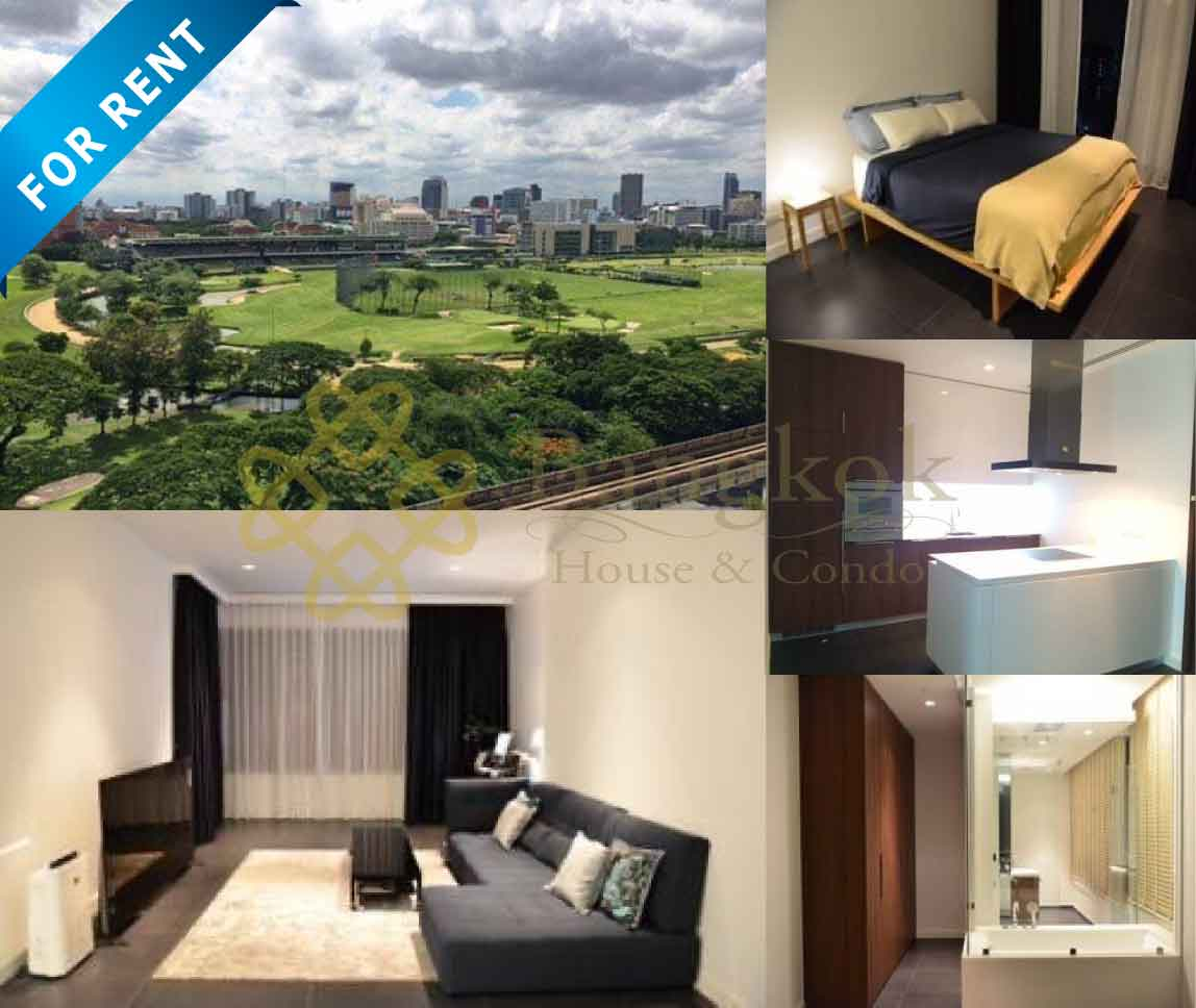 Bangkok Property Condo Apartment House Real Estate For Rent in Ratchadamri Open View Condo
