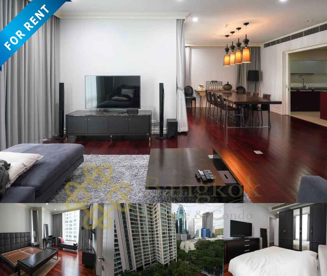 Bangkok Condo Apartment For Rent in Chidlom Sukhumvit Upscale Residence Condo