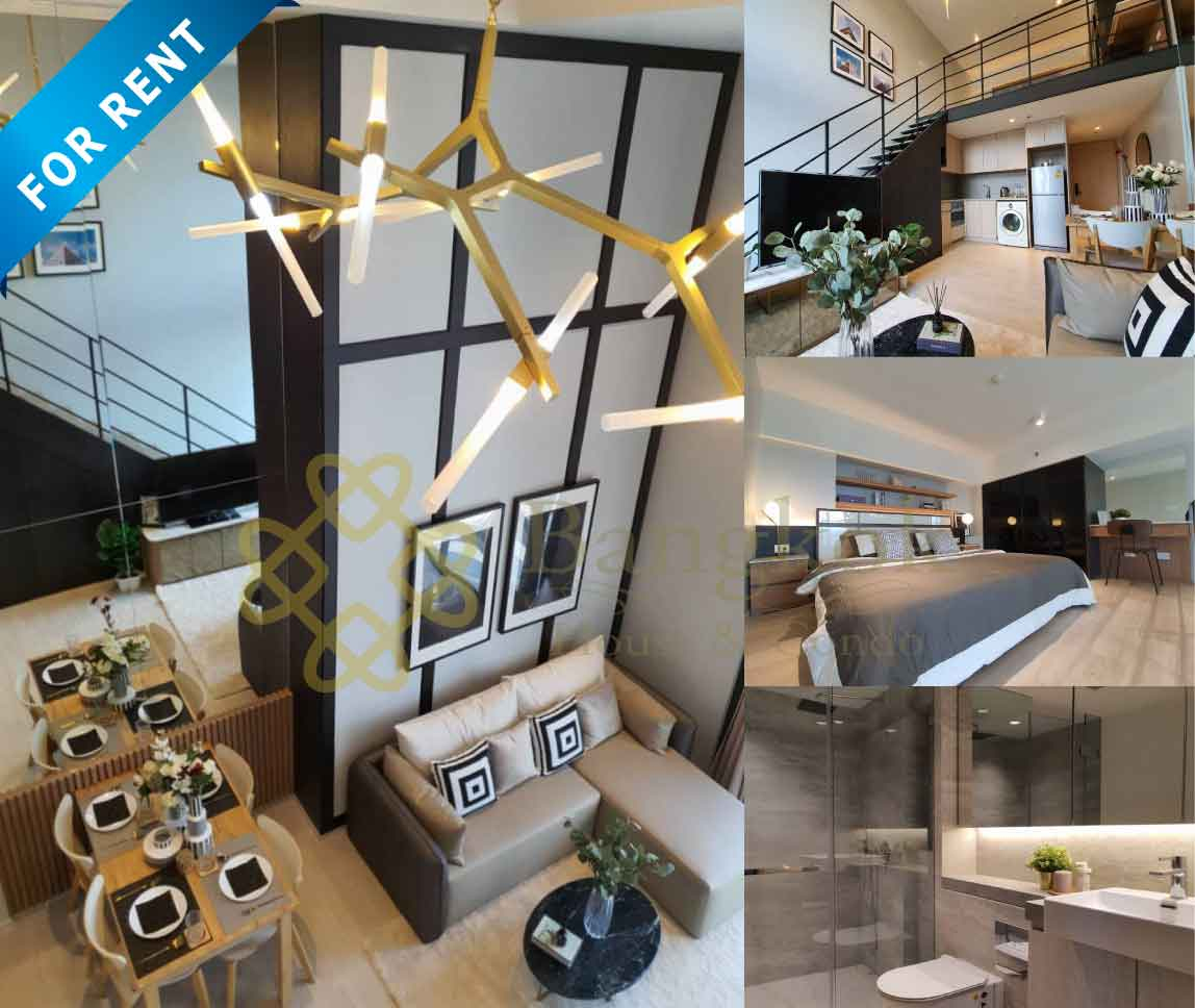Bangkok Property Condo Apartment House Real Estate For Rent in Silom Unblocked View