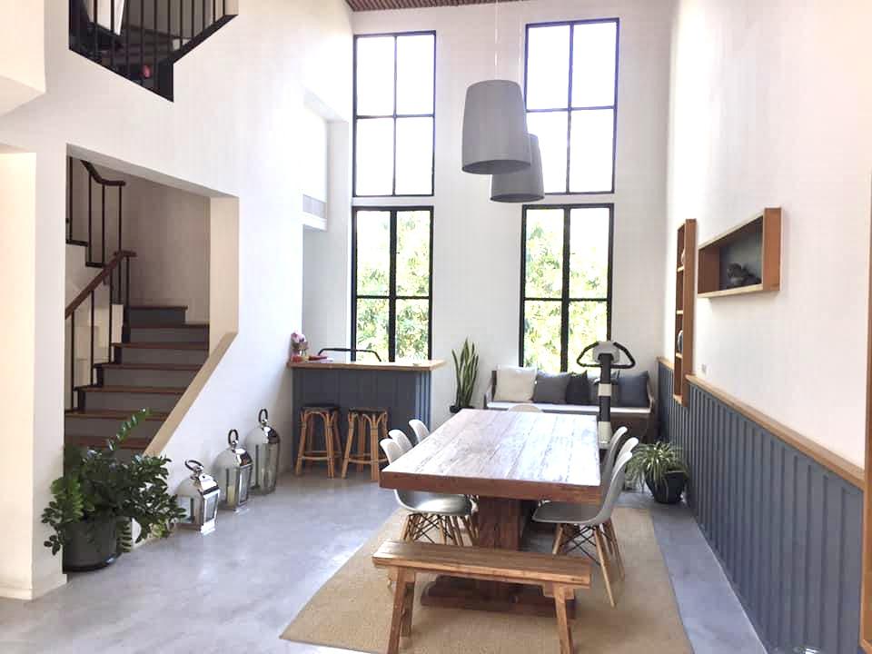 Bangkok House Renovated For Sale in Thonglor Sukhumvit Aesthetic Designed Home Loft Style
